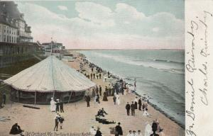 OLD ORCHARD BEACH , Maine , 1901-07 ; Tent on the Beach