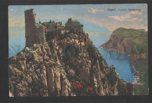 119848 Italy CAPRI Castello Barbarossa Vintage PC