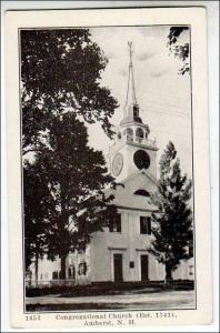 Congregational Church, Amherst NH