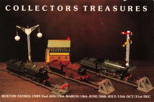 Postcard Collectors Treasures Buxton Collectors Fayres 1989 Hornby Trains #799