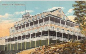 goffstown the uncanoonuc new hampshire L4547 antique postcard