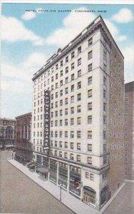Ohio Cincinnati Hotel Fountain Square