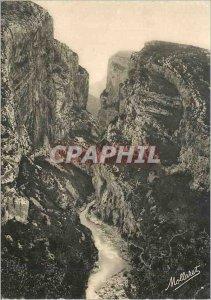 Postcard Modern Verdon Gorges Verdon L'Entree view of Point Sublime Belle Pro...