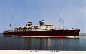 Grace Line - SS Santa Rosa, SS Santa Paula
