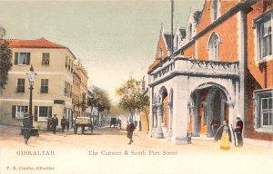 Convent & South Port Street Gibraltar Unused