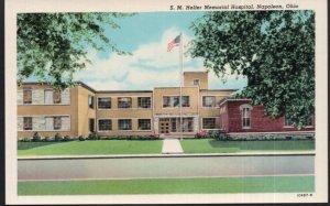 Ohio NAPOLEON S.M. Heller Memorial Hospital - White Border