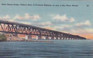 Bahia Honda Bridge Highest Span Of Overseas Highway To Key West Florida