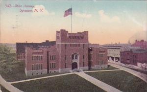 New York Syracuse State Armory 1910