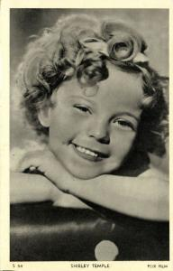 Child Actress SHIRLEY TEMPLE (1930s) Fox Film S54