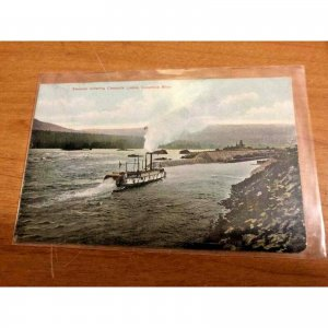 3 C1915 Postcards from Columbia River George Oregon
