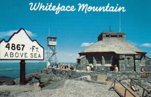 WHITEFACE MT. , New York , 50-60s ; The Summit House