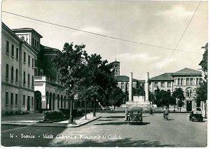 CARTOLINA d'Epoca - TREVISO Città: VIALE CADORNA 1954