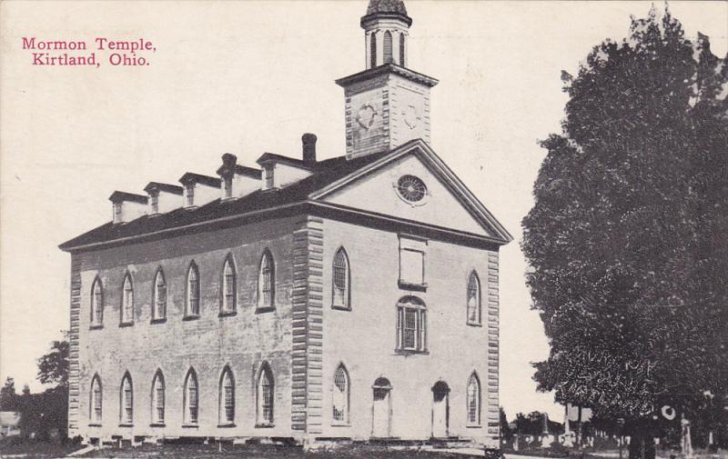 Morman Temple , KIRTLAND , Ohio ,00-10s / HipPostcard