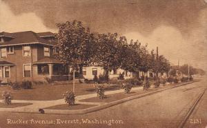 Rucker Avenue, Everett, Washington, 10-20s