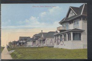 Canada Postcard - Henry Street, North Battleford, Saskatchewan RS17247