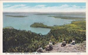 Somes Sound Mount Desert Island Maine