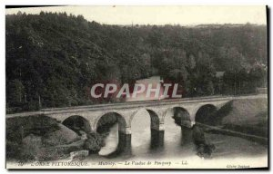 Old Postcard L Orne Mutrecy Picturesque Viaduct Pouquay
