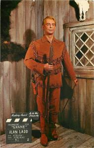 Buena Park CA~Movieland Wax Museum~Alan Ladd~Shane~1965 Postcard