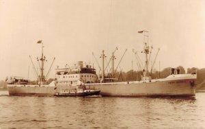Koninklijke m.s. Prins Willem II Oranjelijn Rotterdam RPPC 06.16