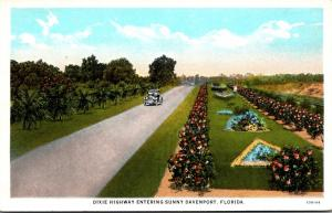 Florida Davenport Dixie Highway Entering Davenport