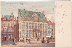 Schutting zu BREMEN , Germany , PU-1906