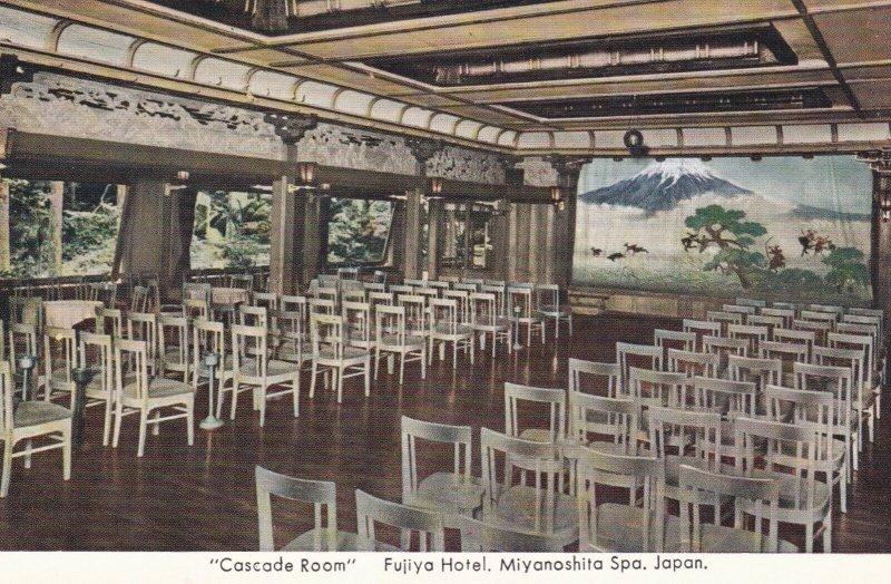 Japan Miyanoshita Spa Fujiya Hotel Casacde Room sk3222