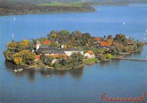 Fraueninsel im Chiemsee, Kloster Frauenwoerth Island Lake General view