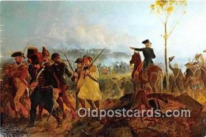 Battle of Bennington, August 16, 1777 General John Stark Patriotic Postcard P...