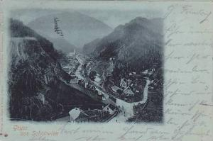 Gruss aus Schottwien , Austria , PU-1899