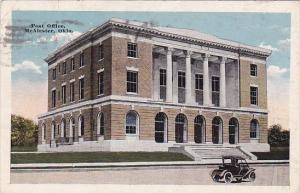 Oklahoma Mcalester Post Office 1905