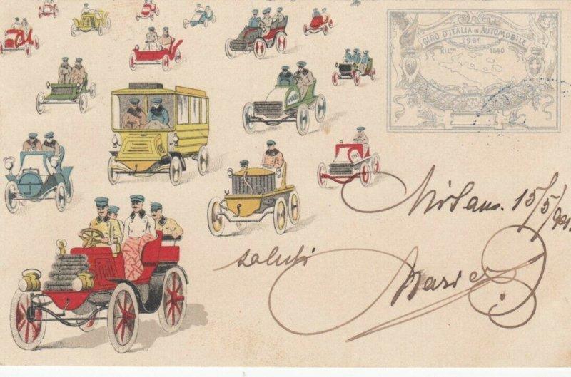 GIRD D'Italia in Automobile , 1901