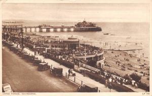 Vintage 1946 Postcard Grand Parade, Eastbourne, Sussex #E