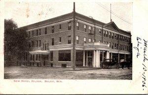 Wisconsin Beloit New Hotel Hilton 1906
