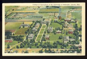 Lincoln, Nebraska/NE Postcard,University College Agriculture