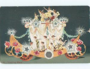 1908 postcard PRIESTS OF DALLAS PARADE SOUVENIR POSTCARD Kansas City MO E6612