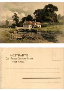 CPA Freude und Friede Meissner & Buch Litho Serie 1260 (730483)