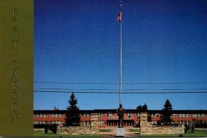 Colorado Colorado Springs Fort Carson Headquarters Building