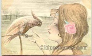 Artist B. Petella (Italy) Postcard Post Card unused