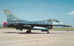United States F-16C Fighting Falcon At Luke Air Force Base Home Of 56th Fight...