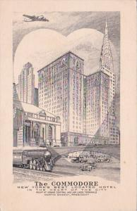 New York City Hotel Commmodore