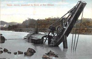 Steam Shovel, Inundated by flood Bas Obispo Panama Unused