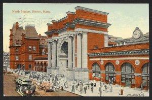 North Station Boston Massachusetts Used c1913
