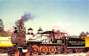 Texas State Railroad's Locomotive No 201 Texas Train Unused
