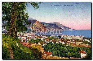 Old Postcard Beaulieu Vue Generale