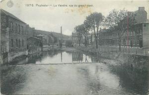 France Pepinster - La Vesdre vue du grand pont