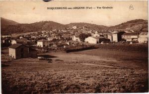 CPA ROQUEBRUNE sur ARGENS Vue générale (411205)