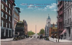 BUFFALO, New York; Court Street, Shea's Vauderville Theatre & McKinley Monument,