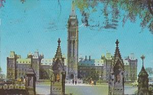Canada Ontario Ottawa The Canadian Houses Of Parliament 1955