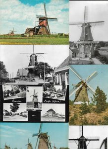 Windmill Mill Mills Most are RPPC Lot of 20 Postcards 01.08