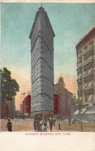Flatiron Building, Manhattan, New York City, Early Postcard Unused